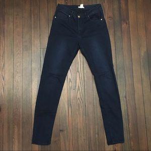 H&M Super Skinny Stretch High Dark Jeans 12 (10)